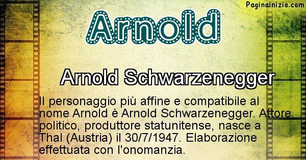 Arnold - Personaggio storico associato a Arnold