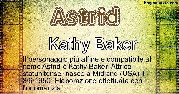 Astrid - Personaggio storico associato a Astrid