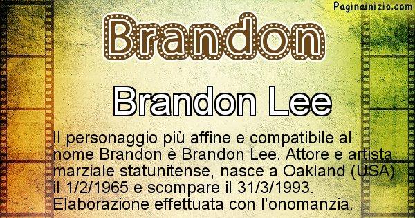 Brandon - Personaggio storico associato a Brandon