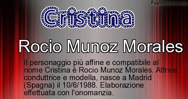 Cristina - Personaggio storico associato a Cristina
