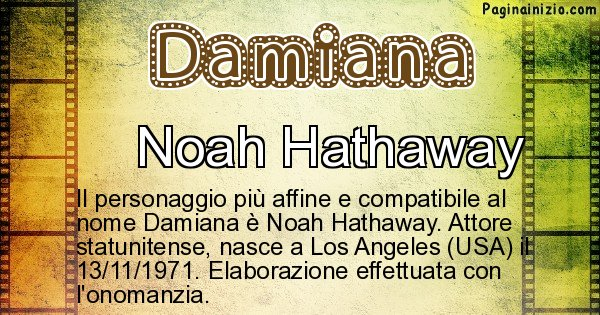 Damiana - Personaggio storico associato a Damiana