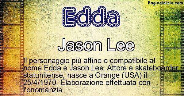 Edda - Personaggio storico associato a Edda