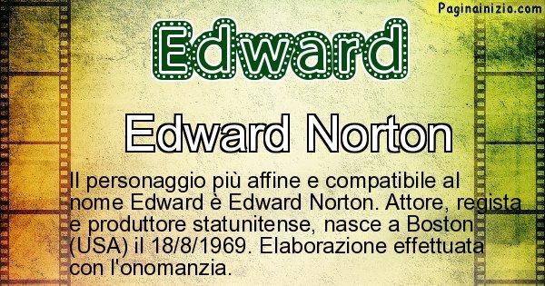 Edward - Personaggio storico associato a Edward