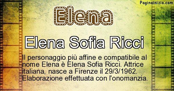 Elena - Personaggio storico associato a Elena