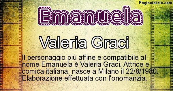 Emanuela - Personaggio storico associato a Emanuela