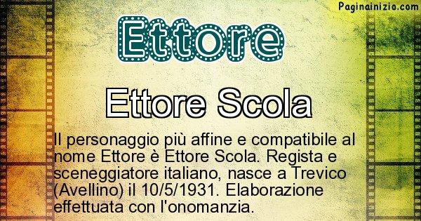 Ettore - Personaggio storico associato a Ettore