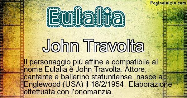 Eulalia - Personaggio storico associato a Eulalia