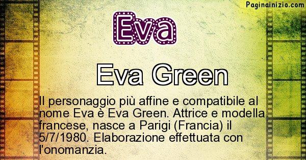 Eva - Personaggio storico associato a Eva