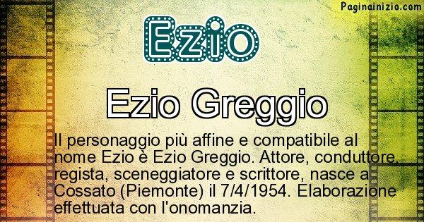 Ezio - Personaggio storico associato a Ezio