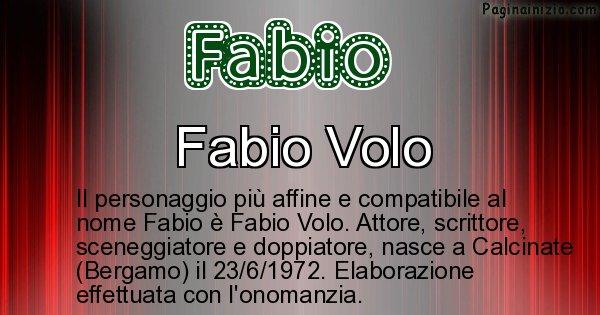 Fabio - Personaggio storico associato a Fabio