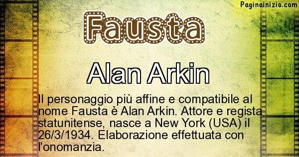 Fausta - Personaggio storico associato a Fausta