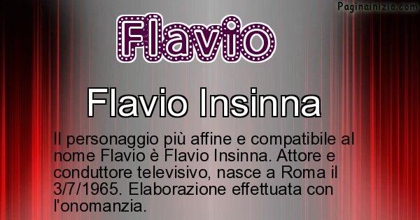 Flavio - Personaggio storico associato a Flavio