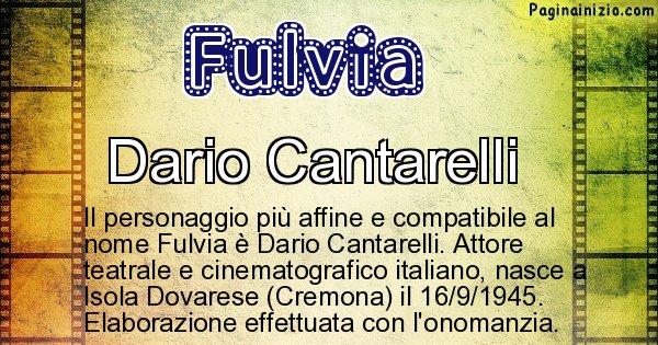 Fulvia - Personaggio storico associato a Fulvia