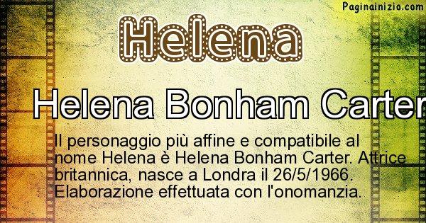 Helena - Personaggio storico associato a Helena