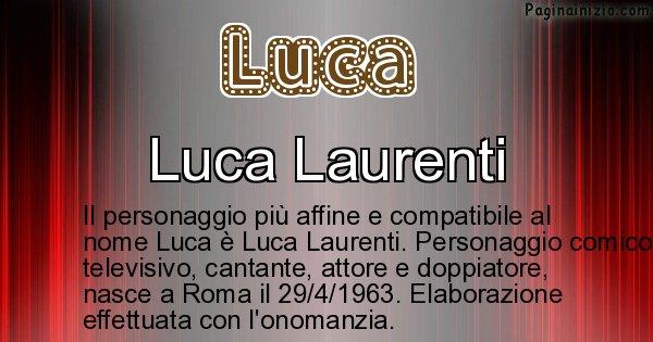 Luca - Personaggio storico associato a Luca