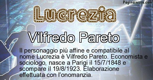 Lucrezia - Personaggio storico associato a Lucrezia