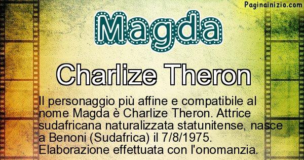 Magda - Personaggio storico associato a Magda