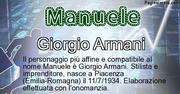 Manuele - Personaggio storico associato a Manuele