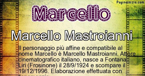 Marcello - Personaggio storico associato a Marcello