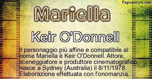 Mariella - Personaggio storico associato a Mariella