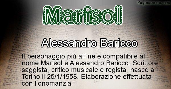 Marisol - Personaggio storico associato a Marisol