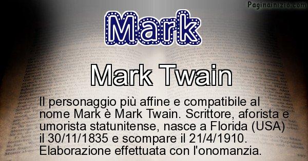 Mark - Personaggio storico associato a Mark