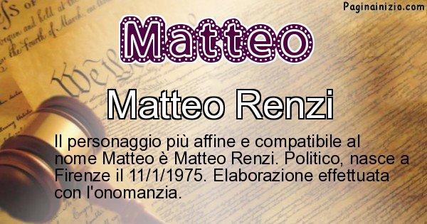 Matteo - Personaggio storico associato a Matteo