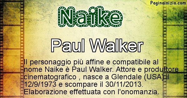Naike - Personaggio storico associato a Naike