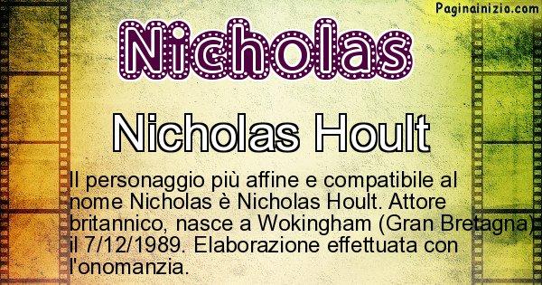 Nicholas - Personaggio storico associato a Nicholas