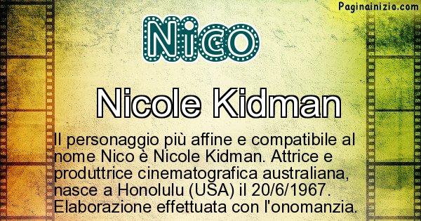 Nico - Personaggio storico associato a Nico