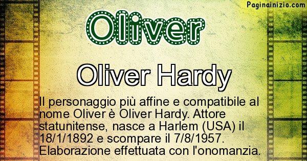Oliver - Personaggio storico associato a Oliver