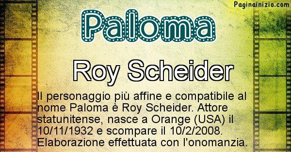 Paloma - Personaggio storico associato a Paloma
