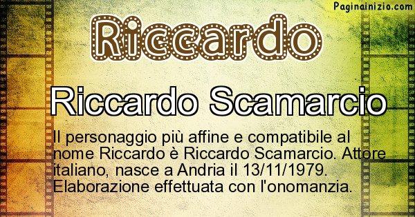 Riccardo - Personaggio storico associato a Riccardo