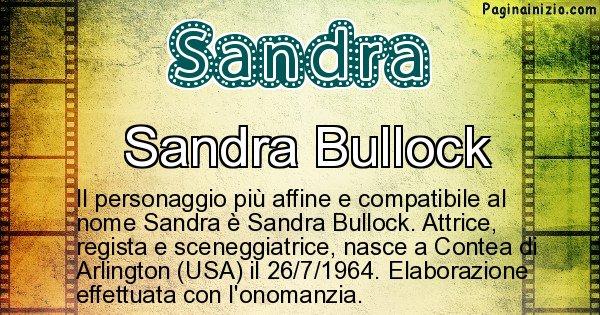 Sandra - Personaggio storico associato a Sandra