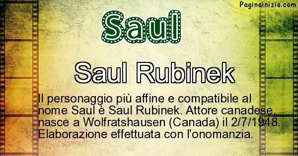 Saul - Personaggio storico associato a Saul