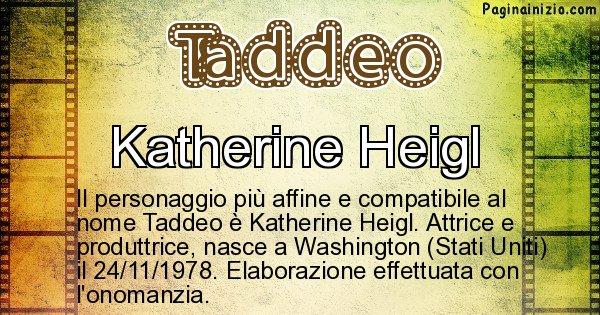 Taddeo - Personaggio storico associato a Taddeo