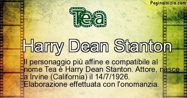 Tea - Personaggio storico associato a Tea