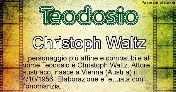Teodosio - Personaggio storico associato a Teodosio