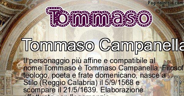 Tommaso - Personaggio storico associato a Tommaso