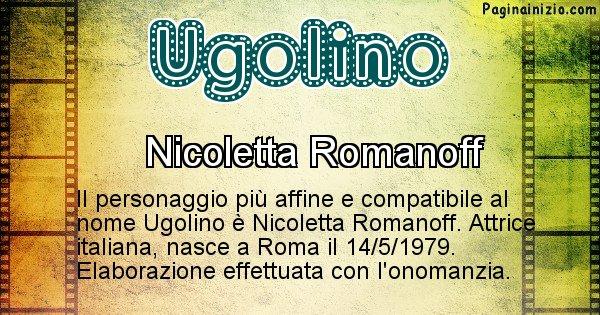 Ugolino - Personaggio storico associato a Ugolino