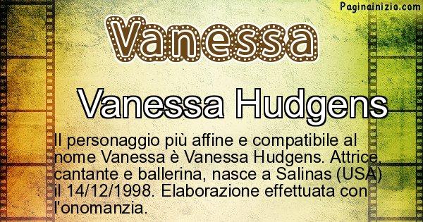 Vanessa - Personaggio storico associato a Vanessa