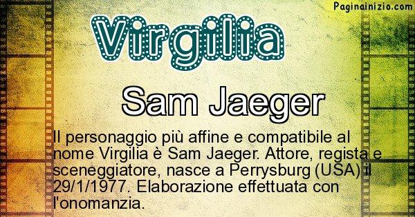 Virgilia - Personaggio storico associato a Virgilia