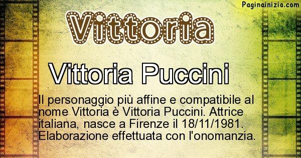 Vittoria - Personaggio storico associato a Vittoria