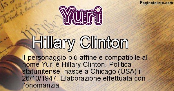Yuri - Personaggio storico associato a Yuri