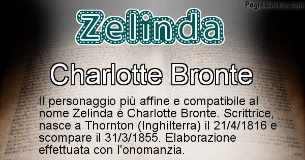 Zelinda - Personaggio storico associato a Zelinda