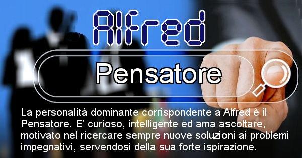 Alfred - Personalità associata al Nome Alfred