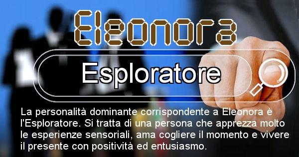 Eleonora - Personalità associata al Nome Eleonora