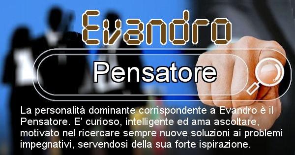 Evandro - Personalità associata al Nome Evandro