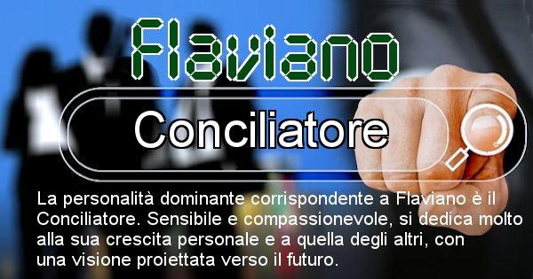Flaviano - Personalità associata al Nome Flaviano