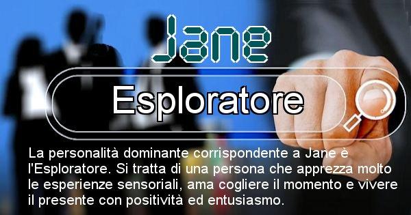 Jane - Personalità associata al Nome Jane